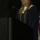 Student speaker Jessica Homitz.