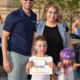 A few awards were available at the Zombie Bike Ride, including Best Costume and Best Family of Zombies, seen here. (Dan Metcalf/Cottonwood Heights)