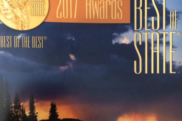 The Best of State Awards recognize outstanding organizations that are making change in the state of Utah. This year, the economic and business development department was recognized for making Cottonwood Heights a business-friendly community. (Councilman Peterson/Cottonwood Heights)