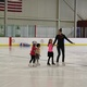 Students follow CHRC staff ice-skating professional Caitlin Ross during the annual summer Learn to Skate Ice Show. (Bailey Boyce/ Cottonwood Heights Rec Center)
