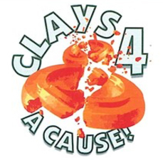 Medium clays for a cause logo