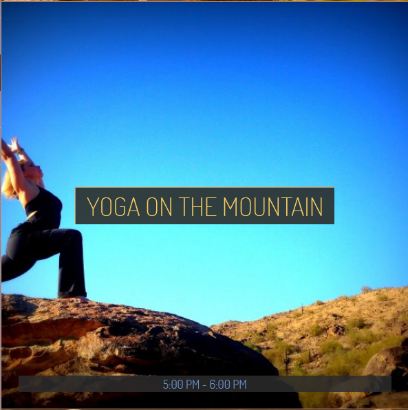 Yoga 20on 20mountain
