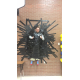 Park Lane Principal Justin Jeffery is taped to the school's multipurpose room wall as a reward for the school reaching their $12,000 goal at the school's fun run. (Park Lane Elementary)