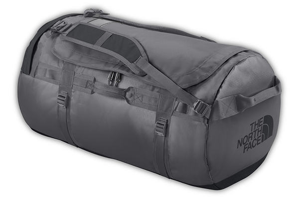 The North Face Base Camp Duffel, $120 at Bag King, 230 Palladio Parkway, Suite 1217, Folsom. 916-923-9530, bagking.com