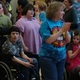 The award was announced during Disco Day at Hartvigsen School. (Jet Burnham/City Journals)