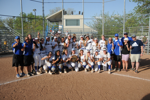 The Bruins finished the season as the Region 18 women's softball champions. They defeated College of Southern Idaho to win the region title. (Wade Tycksen/SLCC softball)