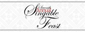 Medium singable feast banner