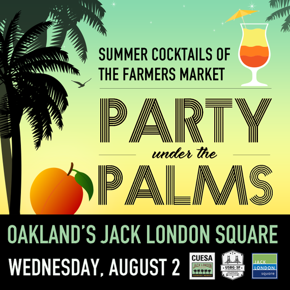 Party palms square