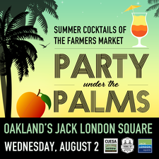 Medium party palms square