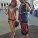 Lindsey Spiker and Bobby Prieto dressed up as Kingdom Heart couple Kairi and Sora. (Keyra Kristoffersen/City Journals)