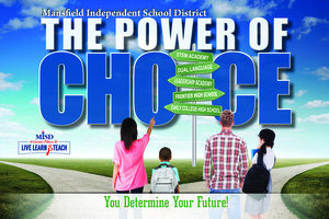 Mansfield ISDs New Power Of Choice Program Offers Unique Educational Tracks to Students - Aug 07 2017 1002AM