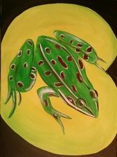 Medium frog