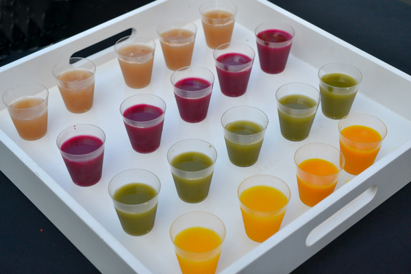 Juices from Pressed Juicery