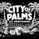 Thumb city of palms print image