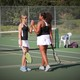 Maple Grove and Osseo battle in girls tennis at Maple Grove Middle School