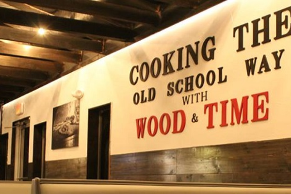 Taverna Wood Fire Kitchen.