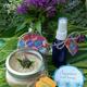Bee Balm Body Scrub, $20, and Lemon Verbena Body Spray, $15, at Sapphire Herbal Boutique, handcrafted locally in El Dorado Hills, 916-224-7142 facebook.com/sapphireherbal