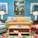Diane Knight of Sanibel Home Furnishings says listening is her best tool in working with clients. Fabrics with sparkles and crystal are out right now, she adds. Photo courtesy of Sanibel Home Furnishings.
