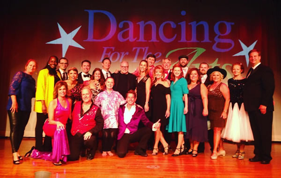 Dancing for the arts 2016