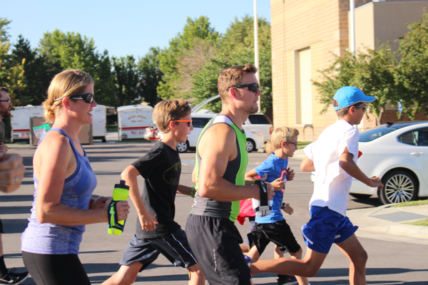 This year is the second year for South Jordan's Superhero Kid's Run but only the first year city officials have added a 5k in the city's race series. (Jessica Parcell/My City Journals)