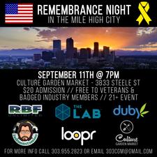 Medium remembrance night