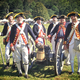 Revolutionary War re-enactors will have a camp set up and will fire muskets and cannons several times during the weekend