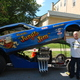 Guests strolled down Broad Street to see nearly 100 antique and classic cars. The Jungle Jim Lieberman '73 Vega Funny Car, a tribute car built by Glen Gualtieri, was this year's featured car.