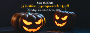 Thriller Masquerade Ball - start Oct 27 2017 0800PM