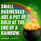 Thumb small business luck