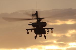 Medium lasing 20helicopter