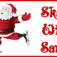 Thumb skate with santa