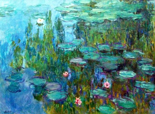 Monet waterlilies 2