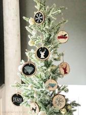 Medium diy wood christmas ornaments 01