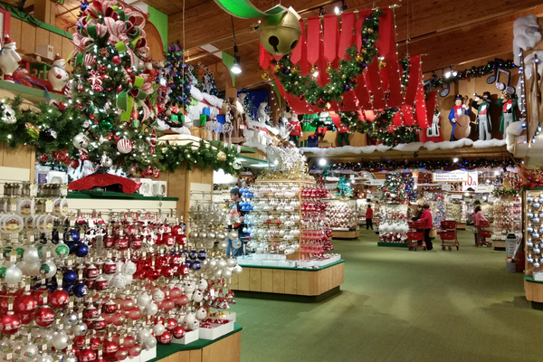 Frankenmuth Christmas.Frankenmuth Michigan Shines Brightest In December But