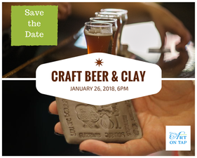 Medium craft beer clay