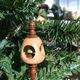 A holiday ornament, photo courtesy of Hosanna Industries