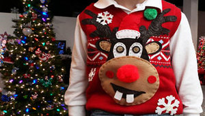 Medium ugly sweater for fb