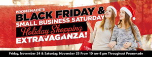 Black Friday  Small Business Saturday Holiday Shopping Extravaganza - start Nov 24 2017 1000AM