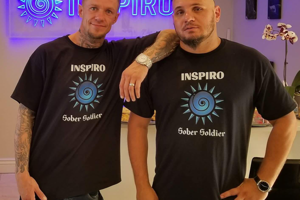 Damian Trujillo and Kenny O'Rourke founded Inspiro, a Sandy recovery and treatment center. (Damian Trujillo)