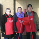 Bell ringers at WalMart in Gibsonia