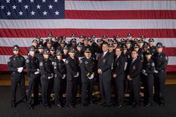 The latest graduating class of Middlesex County Corrections officers.