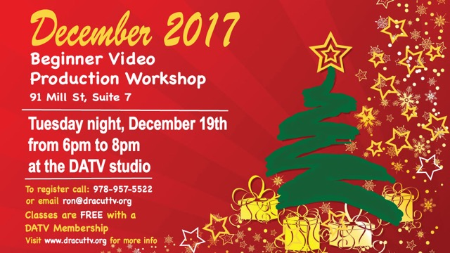 Dec. 202017 20video 20workshop