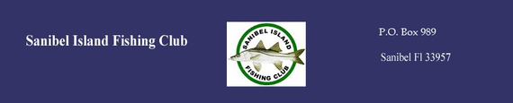 Fishing club banner