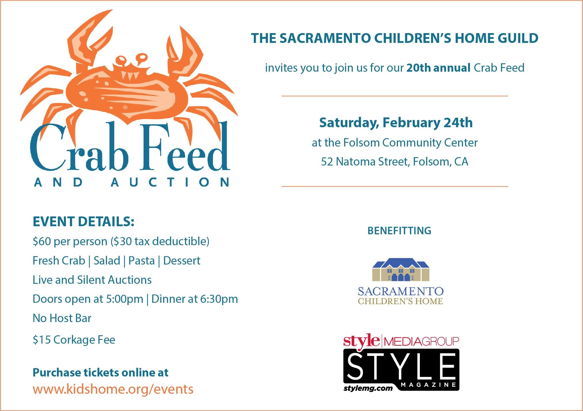 Sacramento childrens home guilds 20th annual crab feed with sacramento childrens home guilds 20th annual crab feed with silent and live auction stopboris Choice Image