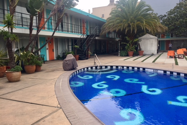 The Phoenix Hotel courtyard pool