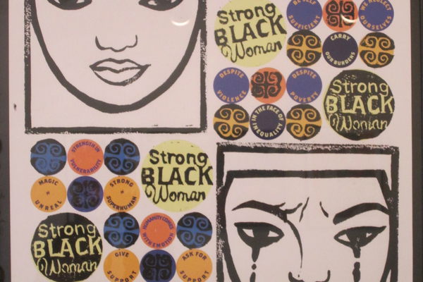 'Strong Black Woman' by Cheyenne Coston.