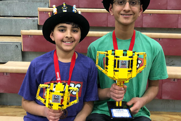 Seshan Brothers Win FIRST LEGO League