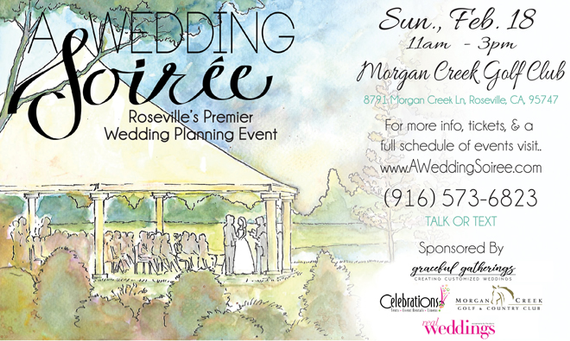 A wedding soiree sacramento rosevile bridal show half