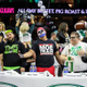 At the 2018 Wing Bowl Monty Moe Train Wiradilaga center placed fifth by eating 250 chicken wings