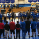 Benicia and Fairfield High gathered to honor Ryan before their match.